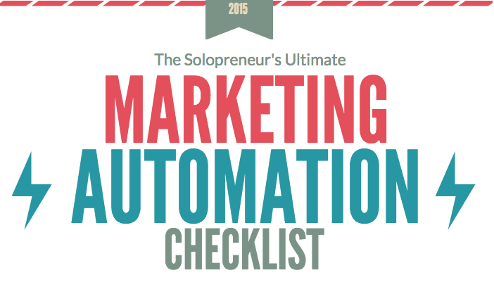 marketing automation checklist