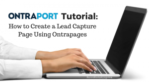 Ontrapages Tutorial