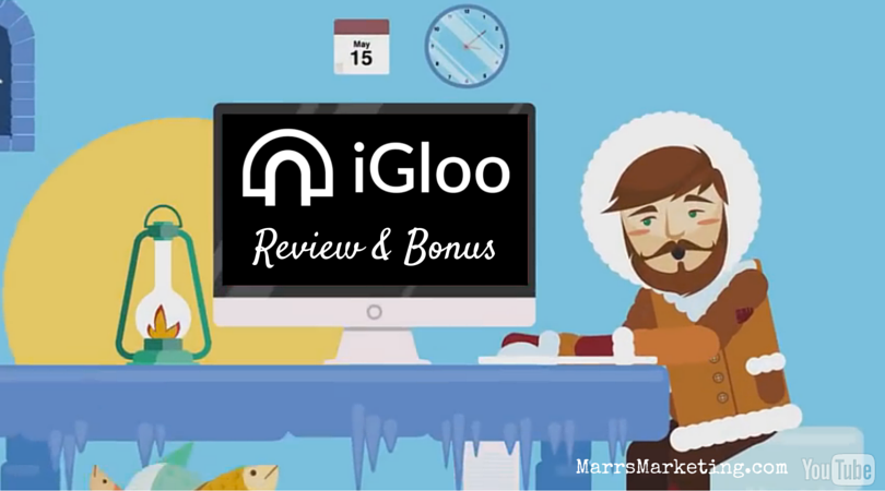 iGloo Landing Page Builder Review & Bonus