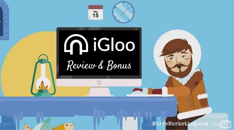 iGloo Landing Page Builder Review & Bonus
