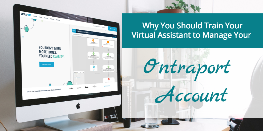 train your virtual assistant to manage your Ontraport account