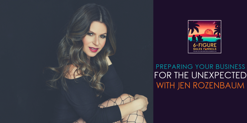 preparing business for the unexpected with Jen Rozenbaum